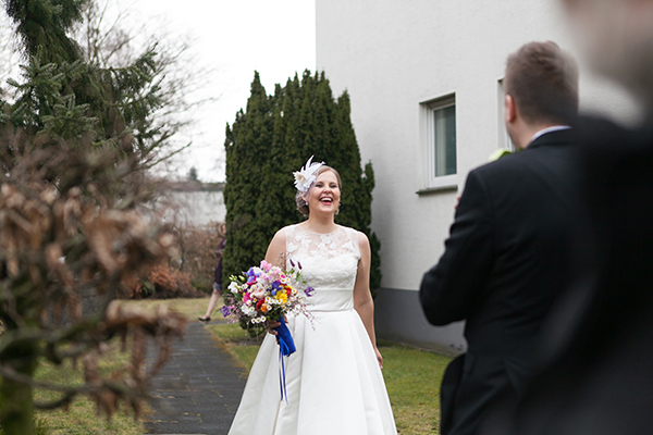 Spring Wedding First Look